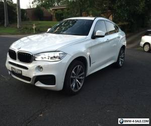 2015 BMW X6 30D - DIESEL - PURCHASED BRAND NEW FROM TRIVETTE - AMAZING BARGAIN for Sale