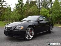 2007 BMW M6 Base 2dr Convertible