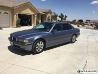 2001 BMW 7-Series 4 Door