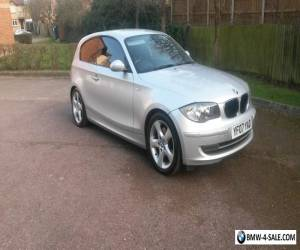 2007 bmw 120d silver 3dr 200bhp for Sale