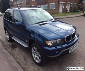 LOW MILEAGE 2003 BMW X5 SE 3.0D ESTATE DIESEL. GENUINE 74000 miles from new. for Sale