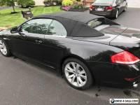 2008 BMW 6-Series Base Convertible 2-Door