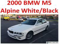2000 BMW M5 Base Sedan 4-Door