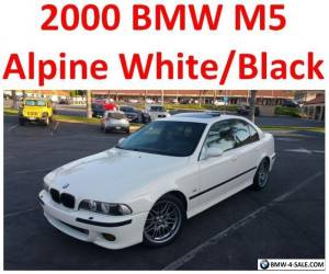2000 BMW M5 Base Sedan 4-Door for Sale