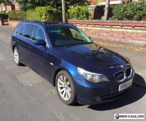 2008 58 BMW 520D SE Touring 2.0 L Diesel 6 Speed 165,000 miles FSH MOT NAV 2 Key for Sale
