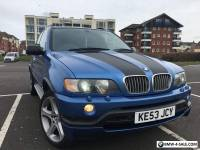BMW X5 4.6 is 5dr sport