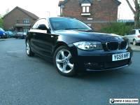 BMW 118D SPORT COUPE LOW MILEAGE FSH BLACK REDUCED PRICE MOT 116 120 E82 E87 E81
