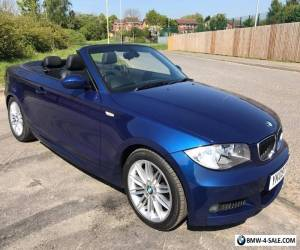 2009 BMW 120I M SPORT CONVERTIBLE BLUE 1 OWNER  2009 67,000 Miles  for Sale