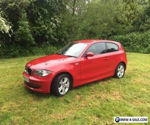 BMW 1 series 118i se 3d auto in red for Sale