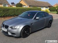 2010 BMW M3 4.0 V8 DCT FROZEN SILVER EDITION 2 DOOR COUPE