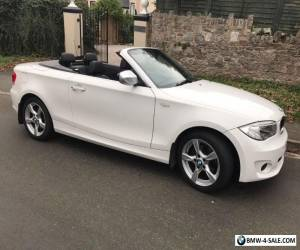 Bmw 118d exclusive edition white convertible for Sale