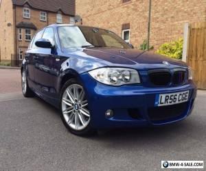 BMW 1 Series 2.0 Diesel 120d M Sport 2006 56 Blue MOT for Sale