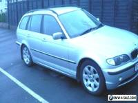 BMW 320 M Sport Touring 52 plate