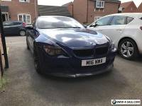 BMW M6 V10 Coupe low mileage, fsh, blue