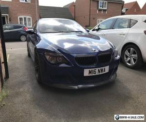 BMW M6 V10 Coupe low mileage, fsh, blue for Sale