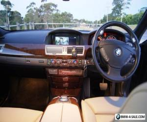 BMW 750Li E66 2006 Luxury Sedan Long-Wheel Base Sapphire Black Beige Interior for Sale