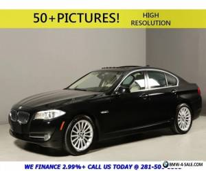 2013 BMW 5-Series 2013 535i NAV HUD TECH PREMIUM XENON SUNROOF TURBO for Sale
