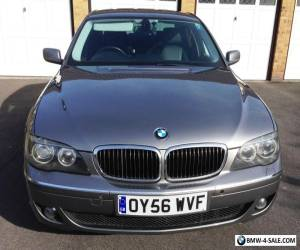 BMW 730D SE 3.0TD AUTO 2006 56 - 44mpg at 70 - SAT NAV - FULL BLACK LEATHER  for Sale
