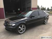 02 BMW 318i SEDAN-BLACK-AUTO-ALLOYS-270K'S-LOOKS GREAT- $2,200 WHOLESALE
