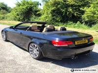 2008 BMW E93 M3 DCT BLACK CONVERTIBLE