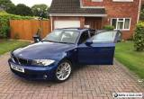 2010 BMW 1 Series 118D M SPORT BLUE for Sale