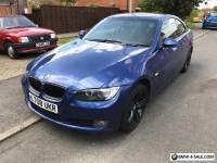 2008 BMW 320i SE E92 Blue Coupe manual Long MOT