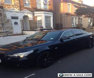 BMW 5 SERIES 520d  FULL Black leather  for Sale