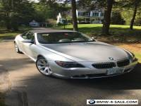 2004 BMW 6-Series 2dr