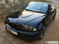 2002 BMW M3 BLACK CONVERTIBLE