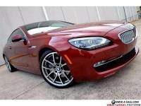 2015 BMW 6-Series 650i LOADED MSRP $106K Bang Olufsen Executive DAP