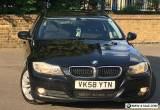 2008 BMW 3 SERIES 320D SE Touring MET BLACK BLACK CLOTH SEATS 142K&FSH 4295 ONO for Sale