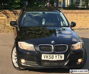 2008 BMW 3 SERIES 320D SE Touring MET BLACK BLACK CLOTH SEATS 142K&FSH 4295 ONO for Sale