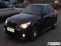 Black Bmw 5 series m sport