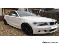 BMW 1 SERIES 2009 M SPORT WHITE 2L 3 DOOR