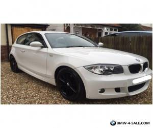 BMW 1 SERIES 2009 M SPORT WHITE 2L 3 DOOR for Sale