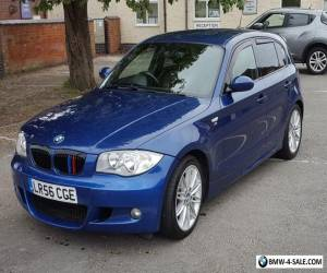 BMW 1 Series 2.0 Diesel 120d M Sport E87 2006 56 Blue MOT FSH for Sale