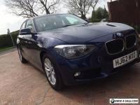 BMW 1 Series 1.6L 116d EfficientDynamics Sports Hatch 5dr 2012