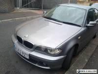 2003 BMW 320 CD GREY