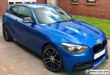 2013 BMW 1 series m135i replica 118i m sport m performance estoril blue mint px for Sale
