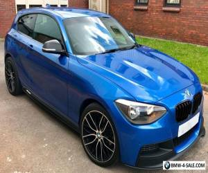 2013 BMW 1 series m135i replica 118i m sport m performance estoril blue mint px for Sale