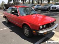 1985 BMW 3-Series