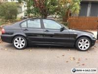 BMW 318i 2003 sedan black
