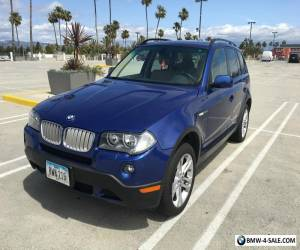 2007 BMW X3 3.0si Sport Utility 4-Door for Sale