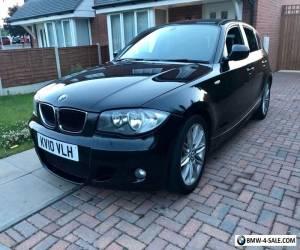 BMW 116D 1 SERIES 5DR BLACK *FULL HISTORY, M SPORT* for Sale