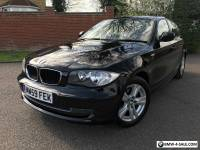 2010 59 BMW 116D SE BLACK 1 SERIES DIESEL MANUAL START/STOP