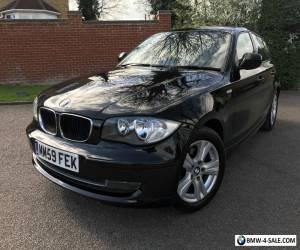 2010 59 BMW 116D SE BLACK 1 SERIES DIESEL MANUAL START/STOP  for Sale