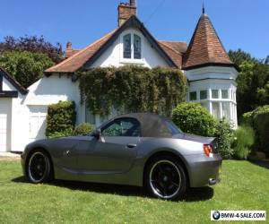 BMW Z4 3.0I M Sport 2004 CONVERTIBLE MANUAL GREY **EXTREMELY LOW MILES** for Sale