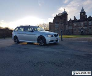 BMW 3 Series 330D  M Sport Touring Estate 5d auto IN SILVER for Sale