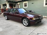 2001 BMW 7-Series Base Sedan 4-Door