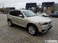 2016 BMW X3 xdrive
